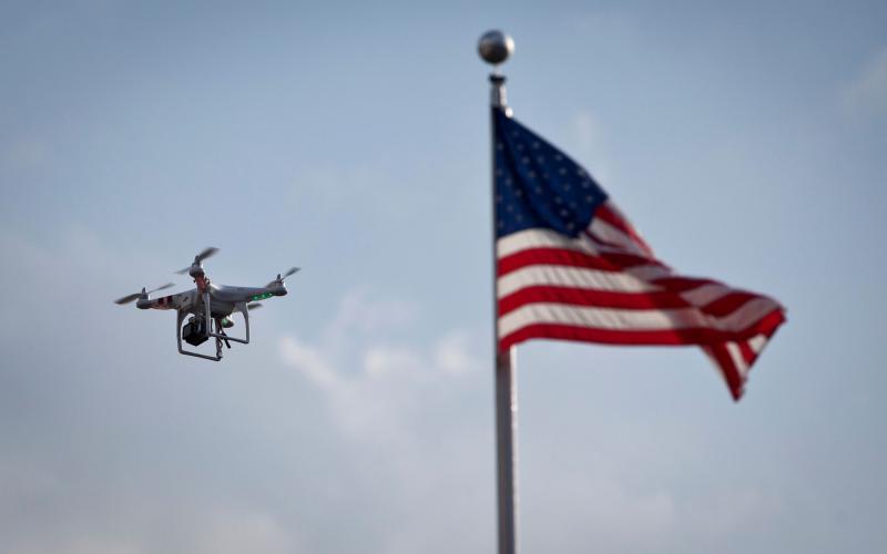 Estados Unidos legal drones
