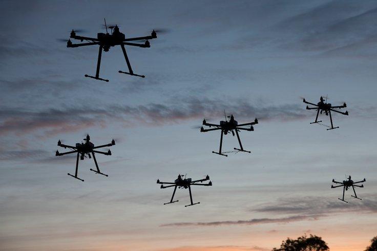 Swarm Drones ToDrone