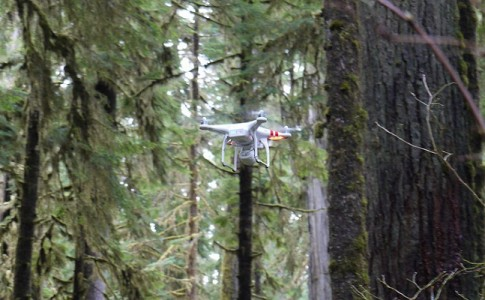 dron autónomo