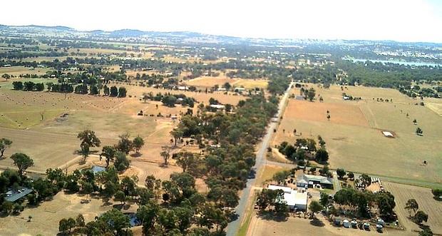 dron campo