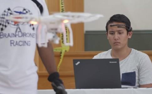 Brain Drone Racing