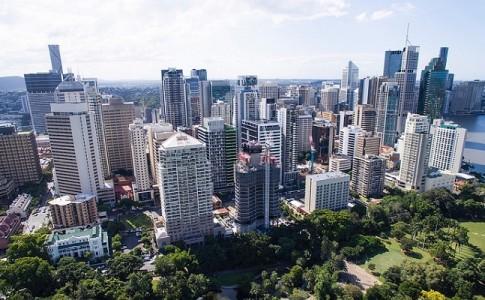 dron ciudad