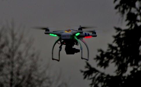 dron nocturno FAA