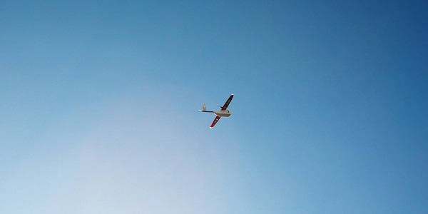 Zipline dron