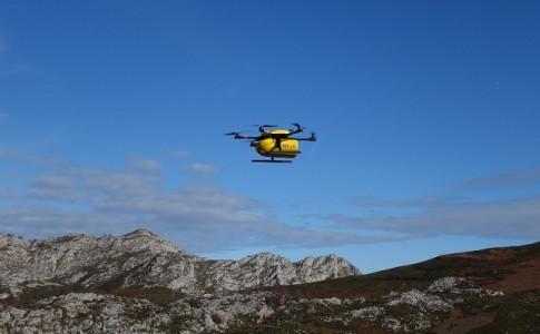 Dron reparto Correos