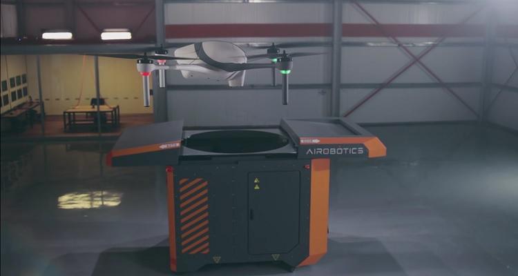 plataforma autonomía Airobotics Optimus