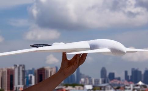 Captor dron impresión 3D