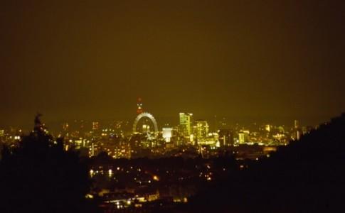 contaminación lumínica Londres