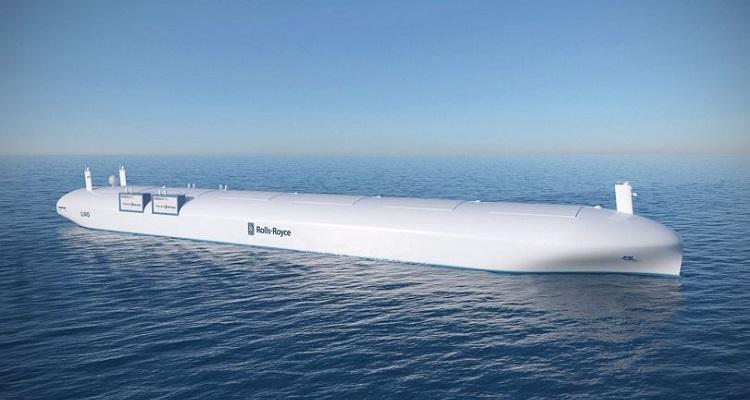 Dron marino de carga Rolls-Royce