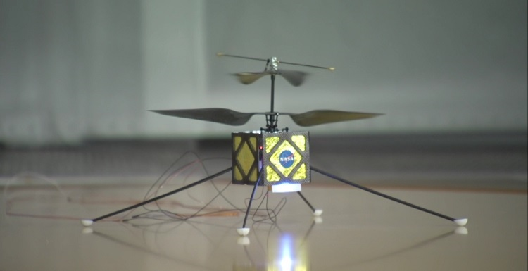 dron helicóptero MARS 2020