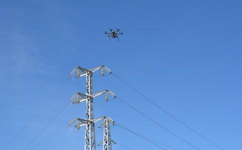 drones Unión Fenosa electricidad