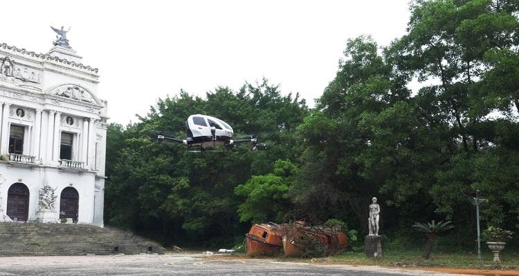 Ehang 184 transporte de personas