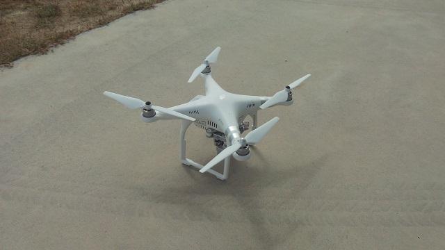 Phantom 3 sistema detección drones Thales