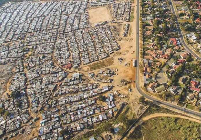 Apartheid Sudáfrica vista dron 1