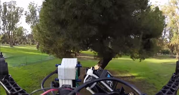 drone evitar obstáculos
