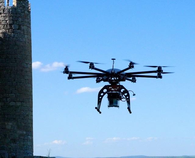 octocóptero Aerotools-UAV