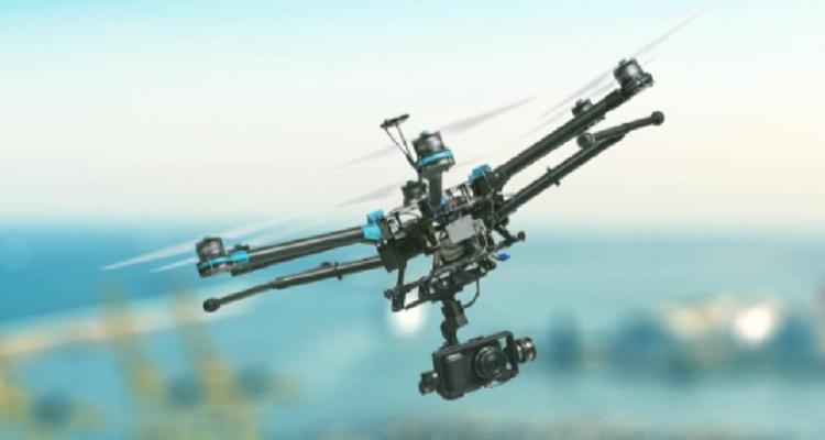 Uavia drone nube