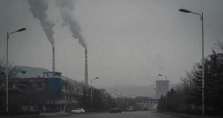 Sistema drones anti contaminación