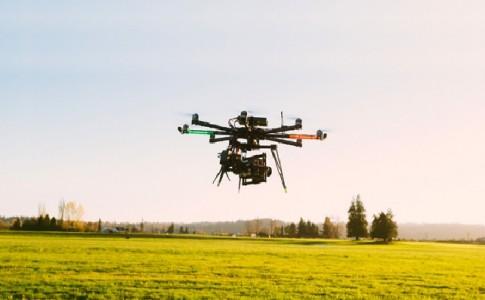 cámaras profesionales drones