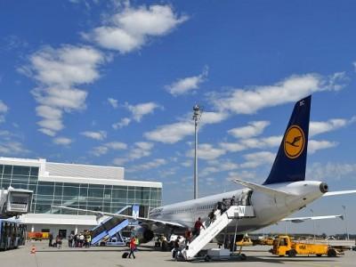 drones inspección Lufthansa DJI