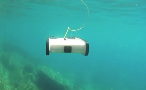 OpenRov Trident drone submarino Raspberry Pi 3