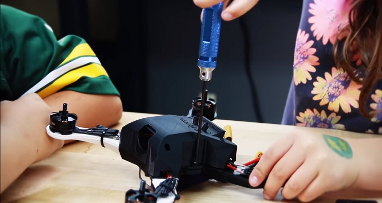 Talon X1 drone impresión 3D Airwolf3D