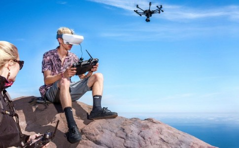 Yuneec SkyView FPV drone gafas