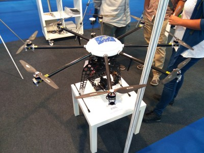 DJI AT8XL Aerotools Expodrónica 2016