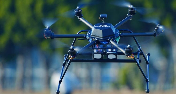Drone control grandes distancias telecomunicaciones