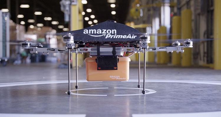 crecimiento envíos con drones 2016