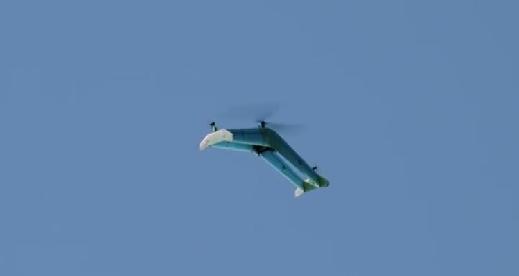 delftAcopter drone ala fija y multirrotor