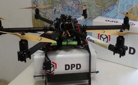 GeoDrone SEUR drone repartidor