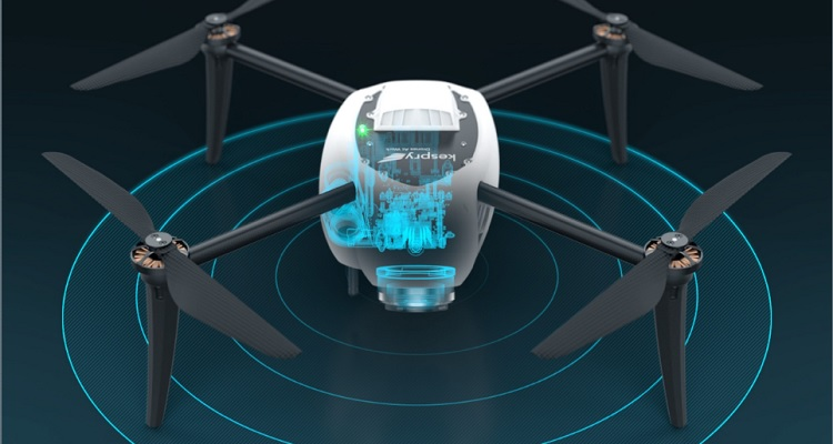 Kespry 2.0 drone