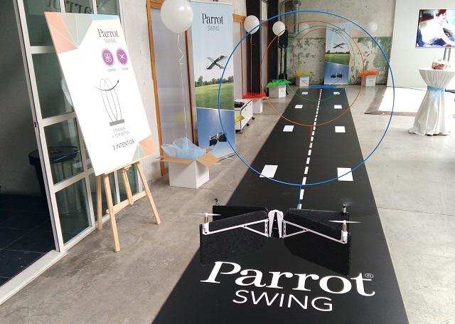 Parrot Swing drone circuito
