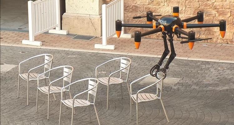 Prodrone drone transporte garras