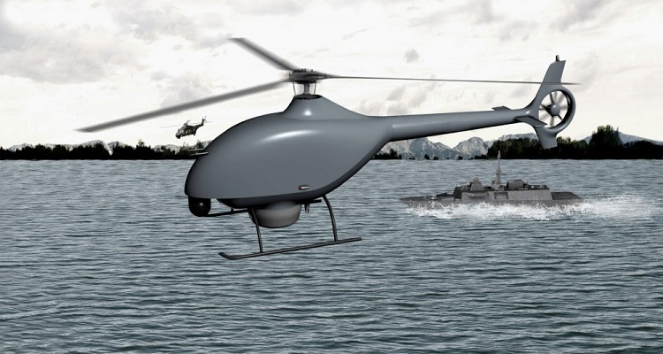 Airbus Helicopters DCNS sistema drones marina francesa