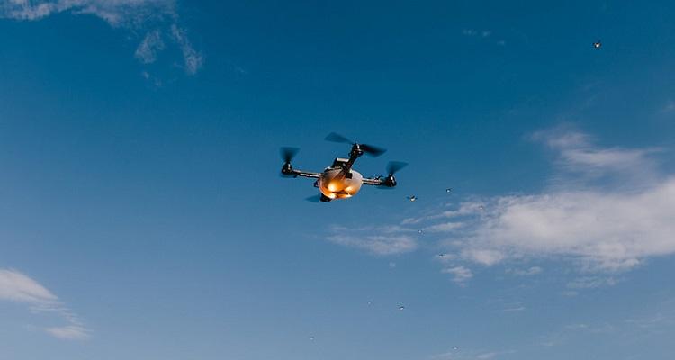 batería hidrógeno para drones