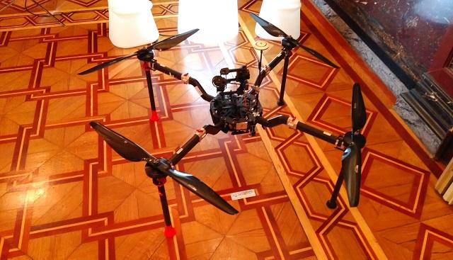 cuadricóptero Aeromedia I Foro Pymes y Drones