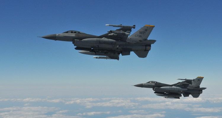 Reconversión F-16 en drones QF-16 EEUU