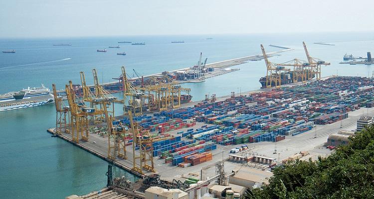 gestión mercancías con drones puertos marítimos