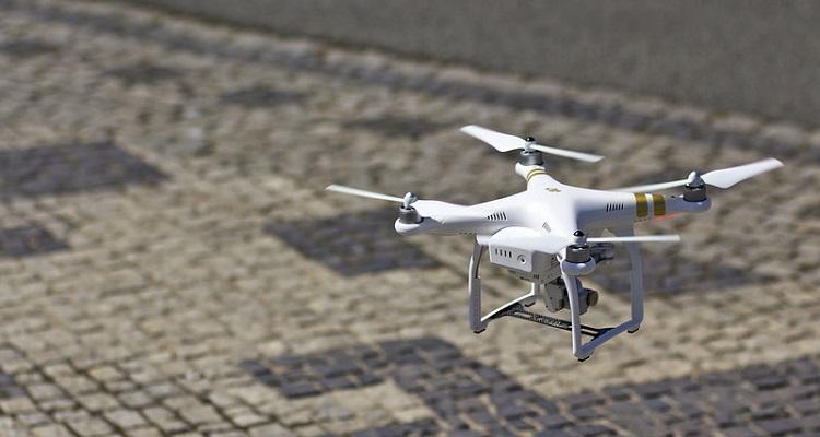 red estaciones asistencia terrestre drones