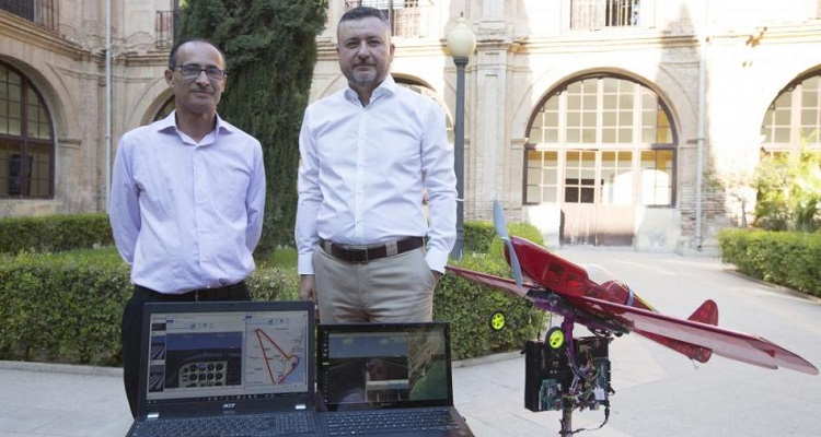 UCAM inteligencia artificial drones
