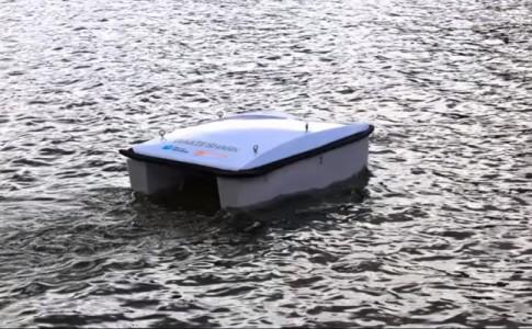 Waste Shark drone marino limpia residuos
