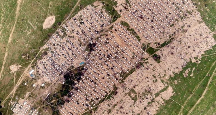 ACNUR uso drones crisis refugiados y desplazados África
