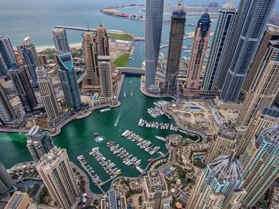 Nokia sistema de control del tráfico de drones Dubái