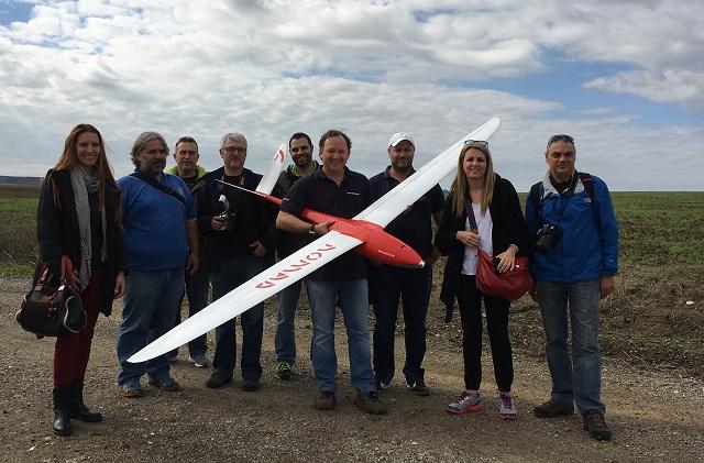 demostración de vuelo Nomad Novadrone