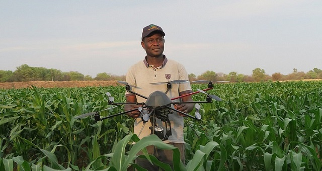 drones pequeños agricultura