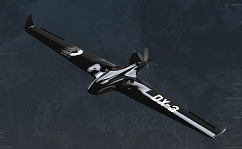 DX-3 drone ala fija autonomía 24 horas Defiant Labs