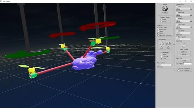 ejemplo diseño drone personalizado plataforma CSAIL MIT