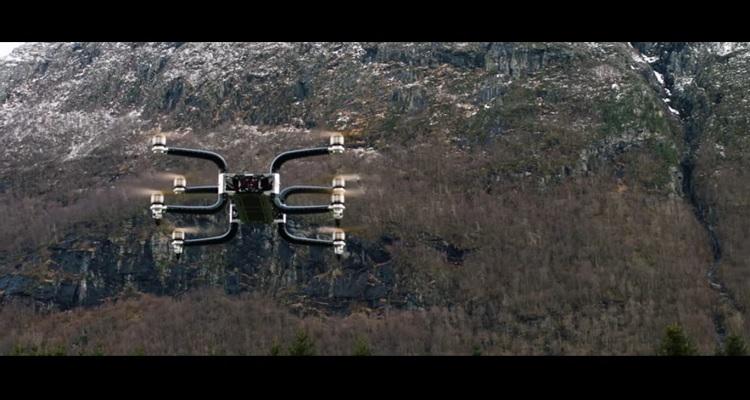 GRIFF 300 drone carga de pago 300 kilos
